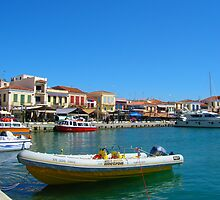 Aegean Dock by groovytunes9