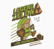 Legend of Zelda - Mario 2 Box Art - Style Kids Clothes