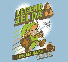 Legend of Zelda - Mario 2 Box Art - Style T-Shirt