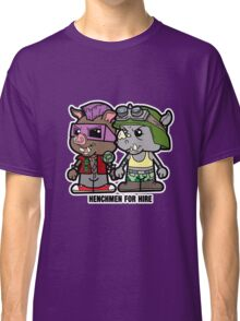 Lil Rocksteady and Bebop Classic T-Shirt