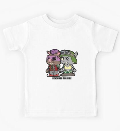 Lil Rocksteady and Bebop Kids Tee