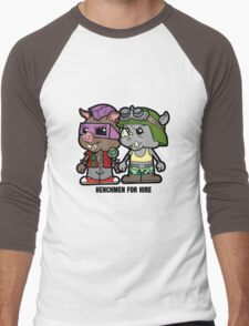 Lil Rocksteady and Bebop Men's Baseball ¾ T-Shirt