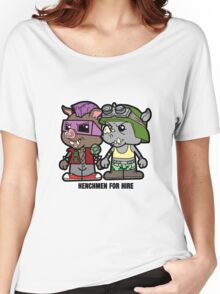 Lil Rocksteady and Bebop Women's Relaxed Fit T-Shirt