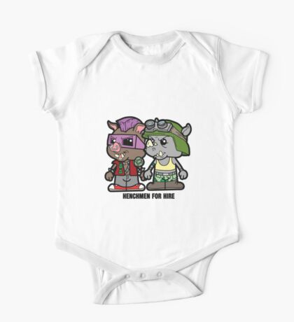 Lil Rocksteady and Bebop One Piece - Short Sleeve