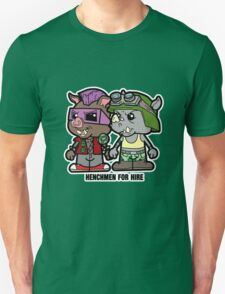 Lil Rocksteady and Bebop Unisex T-Shirt
