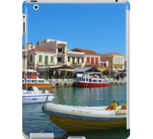Aegean Dock iPad Case/Skin