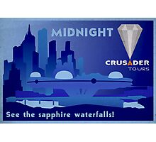 Visit Beautiful Midnight! Photographic Print