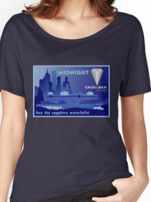 Visit Beautiful Midnight Women's Relaxed Fit T-Shirt