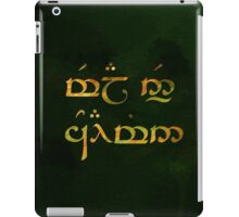 Mela en' coiamin - Love of my life iPad Case/Skin