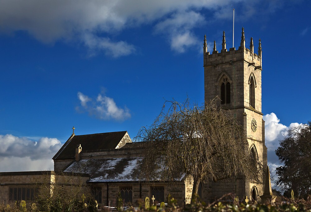 Orsall church  by jasminewang
