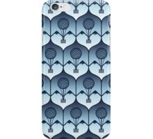 dirigible airship blue iPhone Case/Skin