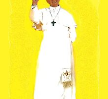 Pope Francis greeting cards & postcards by MURRAY BROUGH