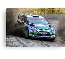 Ford WRC Rally GB Canvas Print