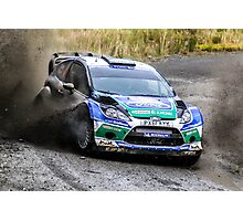 Ford WRC Rally GB Photographic Print