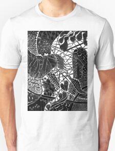Zen doodle spiritual abstract art T-Shirt