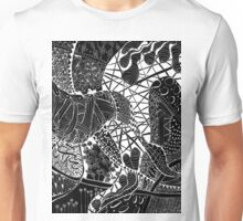Zen doodle spiritual abstract art Unisex T-Shirt