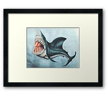 Your Jaws Framed Print