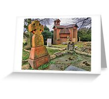 The Watts Mortuary Chapel - Compton Surrey - HDR Greeting Card