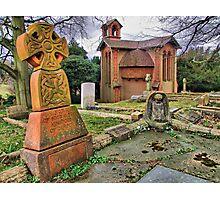The Watts Mortuary Chapel - Compton Surrey - HDR Photographic Print
