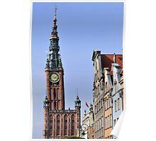 City of Gdansk, Poland. Poster