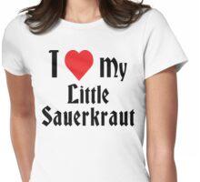 I Love My Little Sauerkraut Womens Fitted T-Shirt