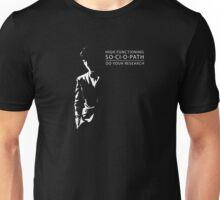 so·ci·o·path Unisex T-Shirt