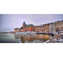 Nybrokajen, Stockholm Photographic Print