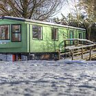Caravan Park in Winter (2) by Michelle Hardy  Photography