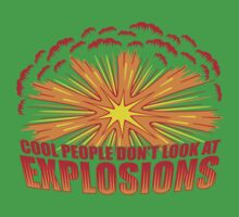 Don't Look at Explosions Kids Clothes