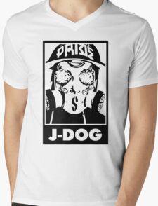 J-Dog Mens V-Neck T-Shirt