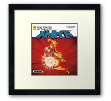 Metroid Famicom Disk System Japanese Box Art (NES) Framed Print