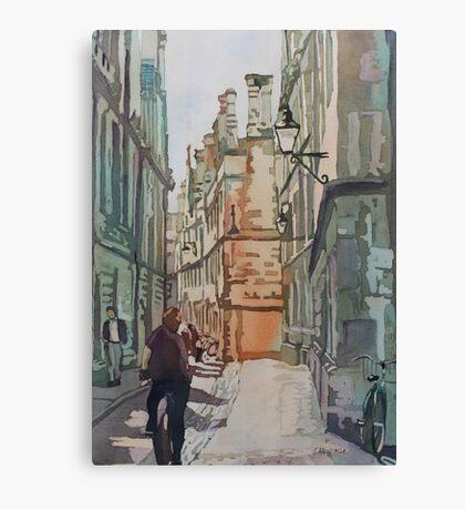 Oxford Lane Canvas Print