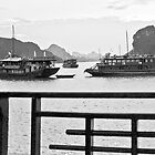 Halong Bay dawn by Jeff Symons