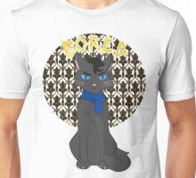Catlock is Bored Unisex T-Shirt