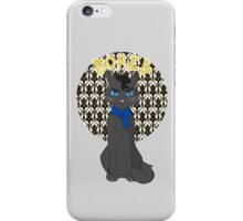Catlock is Bored iPhone Case/Skin