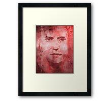 Its Alright Im Only Bleeding Framed Print