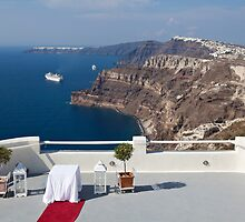 Santorini - The Wedding Venue by Jeff Symons