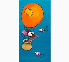 Mouse in his hot air balloon Unisex T-Shirt