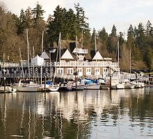 Vancouver Yacht Club by Heather Eeles