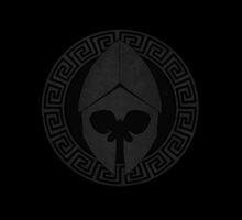 Skull Logo iPhone Case by matterdeep