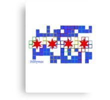 Tetris Chicago Canvas Print