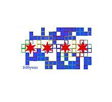 Tetris Chicago Photographic Print