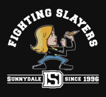 Fighting Slayers by wloem