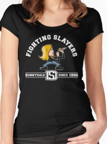 Fighting Slayers Women's Fitted Scoop T-Shirt