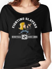 Fighting Slayers Women's Relaxed Fit T-Shirt
