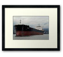 Freight liner Framed Print