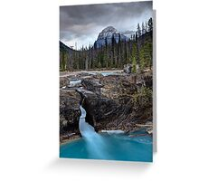 Natural Bridge British Columbia Greeting Card