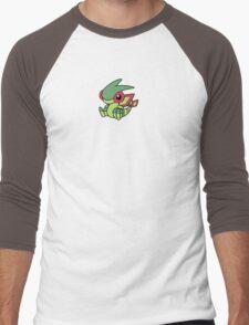 Flygon Pokedoll Art Men's Baseball ¾ T-Shirt