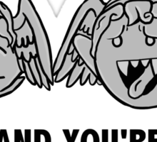 Blink And You're Dead Sticker