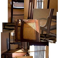 Rocking Chair on A Winter's Day by MFCoffin